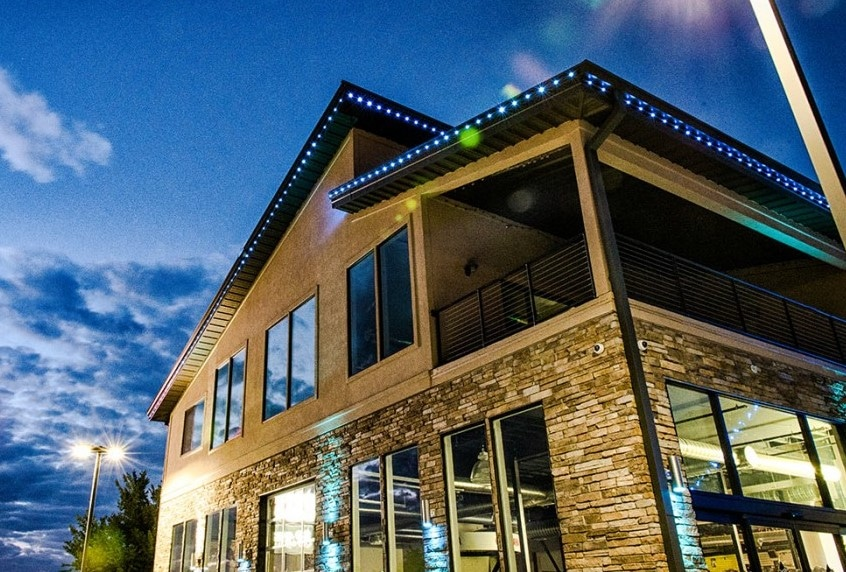 Blog commercial exterior lighting the secret to getting more customers aloadofball Image collections