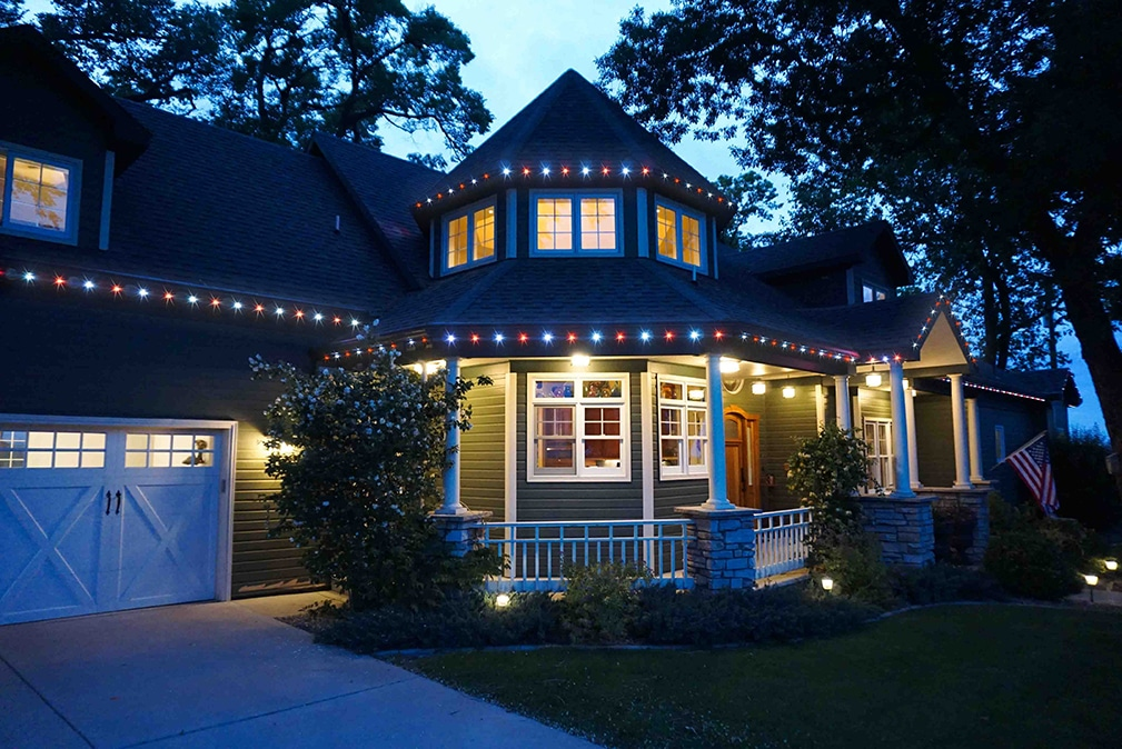 oelos permanent led christmas lights mean you never have to hang holiday lighting again
