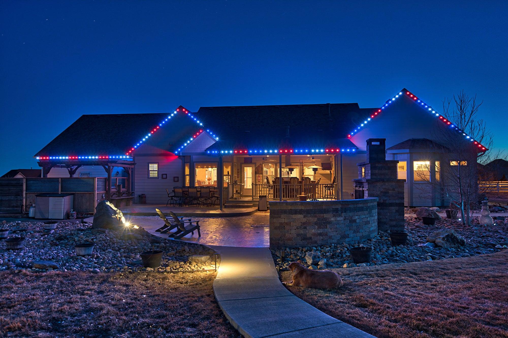 Car Dealerships In Sherman Tx >> Modern Outdoor Lighting Gallery | Year-Round Christmas ...